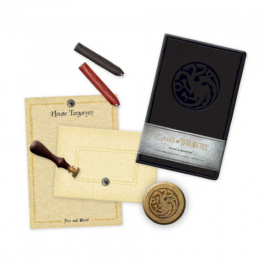 Dopisní souprava Game of Thrones Deluxe - House Targaryen