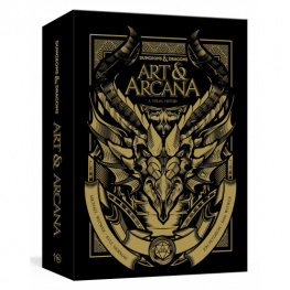 Dungeons and Dragons Art and Arcana: A Visual History (Special Edition Set)