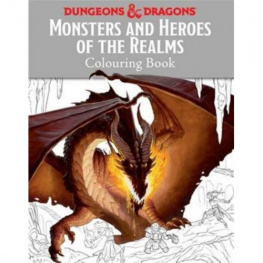 Dungeons & Dragons: Monsters and Heroes of the Realms - omalovánky