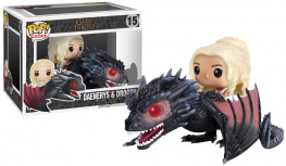Game Of Thrones Daenerys Targaryen & Drogon Vinyl Figure 15 Sberatelská postava standard