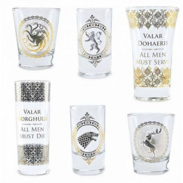 Half Moon Bay Sada panáků Game of Thrones - 6 ks - poškozený obal 50ml