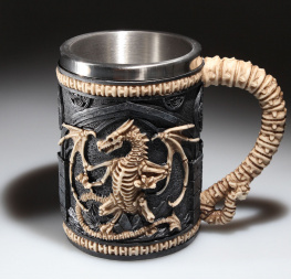 hrnek (korbel) Dragon Remains Tankard