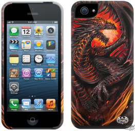 kryt na mobil SPIRAL - DRAGON FURNACE - Iphone