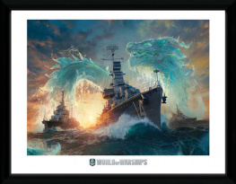 Obraz na zeď - World Of Warships - Dragons