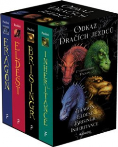 Odkaz Dračích jezdců – Eragon,Eldest,Brisingr,Inherit.(box) - Christopher Paolini - Fragment