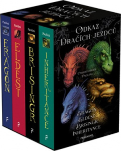 Odkaz Dračích jezdců – Eragon,Eldest,Brisingr,Inherit.(box) | Christopher Paolini