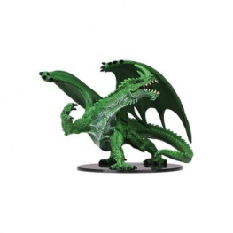 Pathfinder Battles: DC Miniatures - Gargantuan Green Dragon