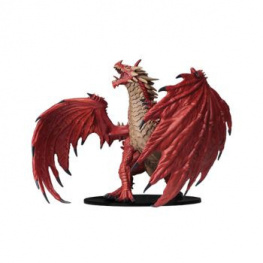 Pathfinder Battles: DC Miniatures - Gargantuan Red Dragon