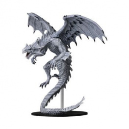 Pathfinder Battles: DC Miniatures - Gargantuan White Dragon