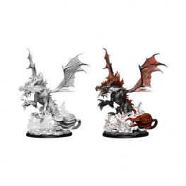 Pathfinder Battles: Deep Cuts Miniatures - Nightmare Dragon
