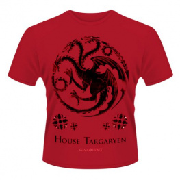 PHD Merchandise Tričko Game of Thrones - House of Targaryen, velikost L