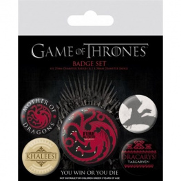 Placky Game of Thrones - Fire and Blood 5 ks