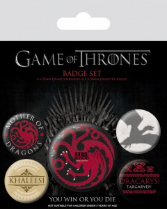 Posters Placka Hra o Trůny (Game of Thrones) - Fire and Blood